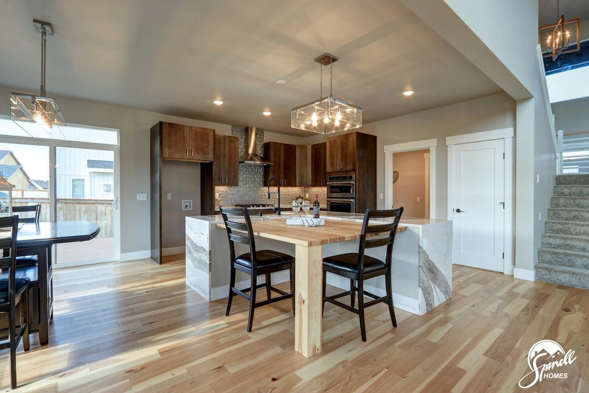 Kitchen featured in the Wrangell 2481 By Spinell Homes in Anchorage, AK