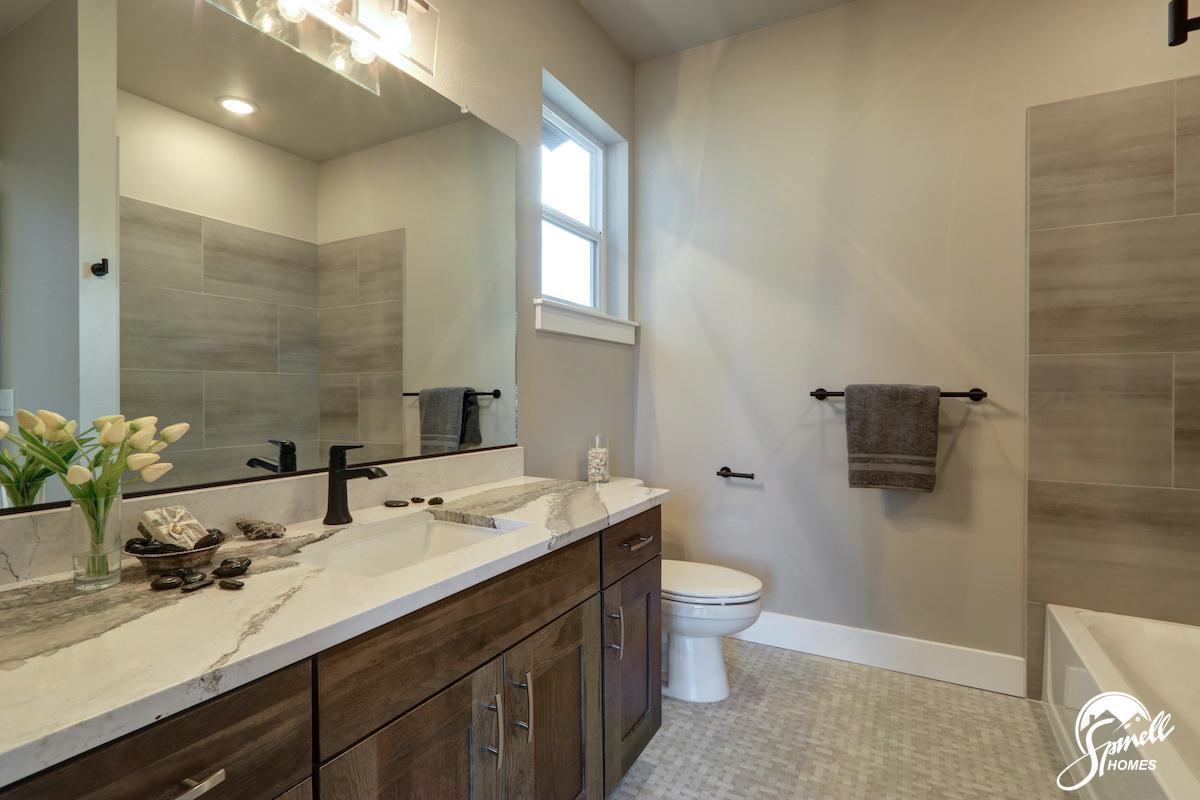 Bathroom featured in the Wrangell 2481 By Spinell Homes in Anchorage, AK