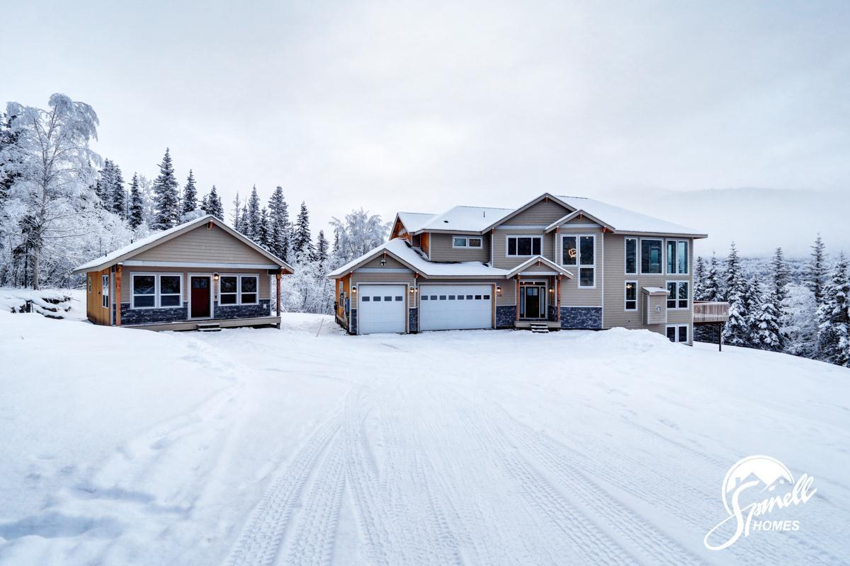 Exterior featured in the Blueberry 2868 By Spinell Homes in Anchorage, AK