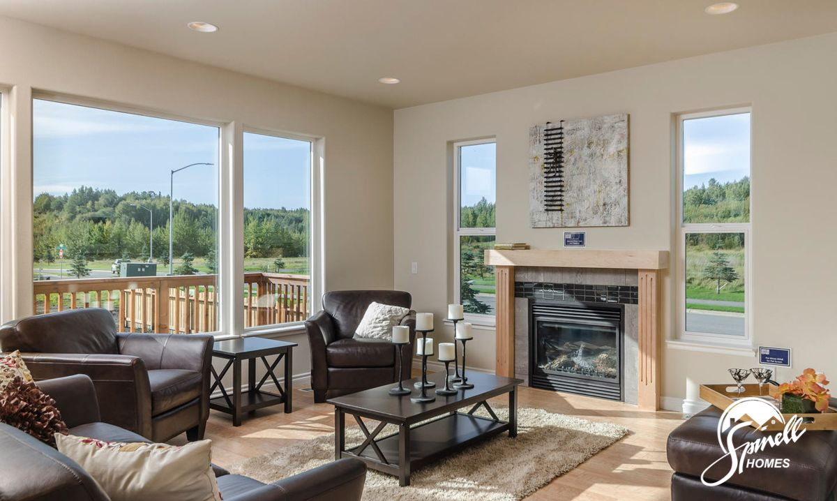 Living Area featured in the St Elias 2037 - Premier By Spinell Homes in Anchorage, AK