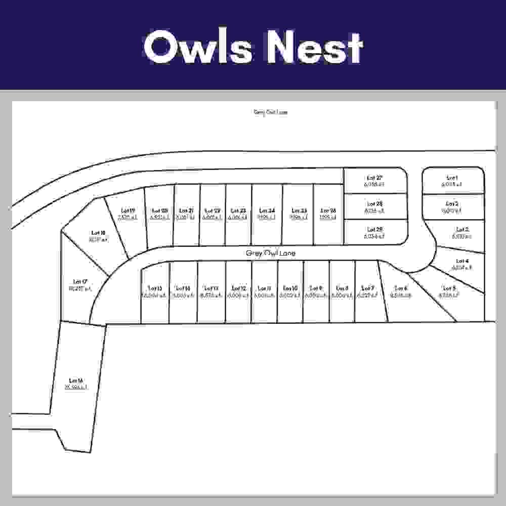 Owls Nest Lot Maps