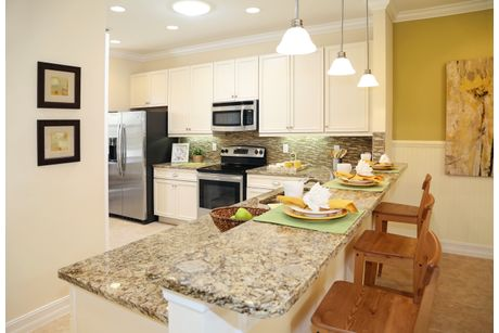 Kitchen-in-Chelsea B-at-St. Andrews Park Villa Homes-in-Port Saint Lucie