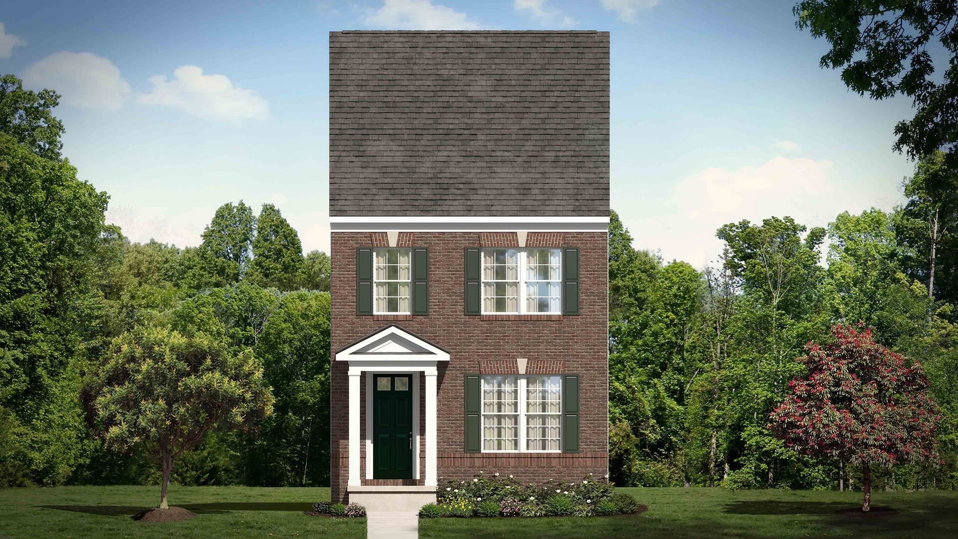 Waverly plan chapel hill north carolina 27516 waverly plan at winmore by stanley martin homes for Martin home exteriors jacksonville fl