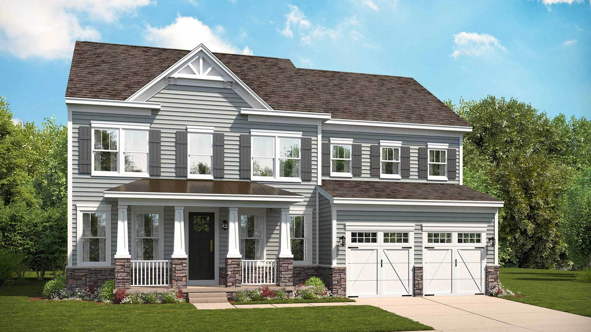 Stanley Martin Homes New Home Plans In Richmond Petersburg