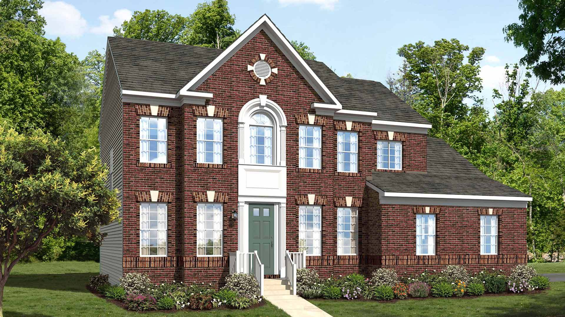 Chatham plan upper marlboro maryland 20772 chatham plan at marlboro riding and pointe by for Martin home exteriors jacksonville fl