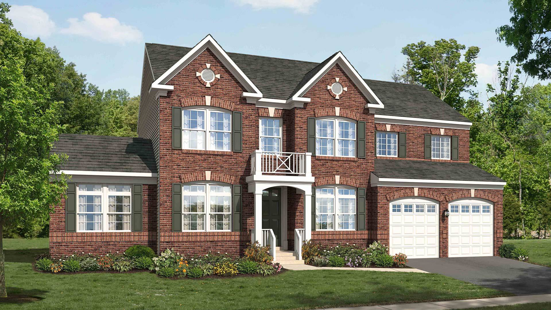 Exterior featured in the Chatham By Stanley Martin Homes in Washington, MD
