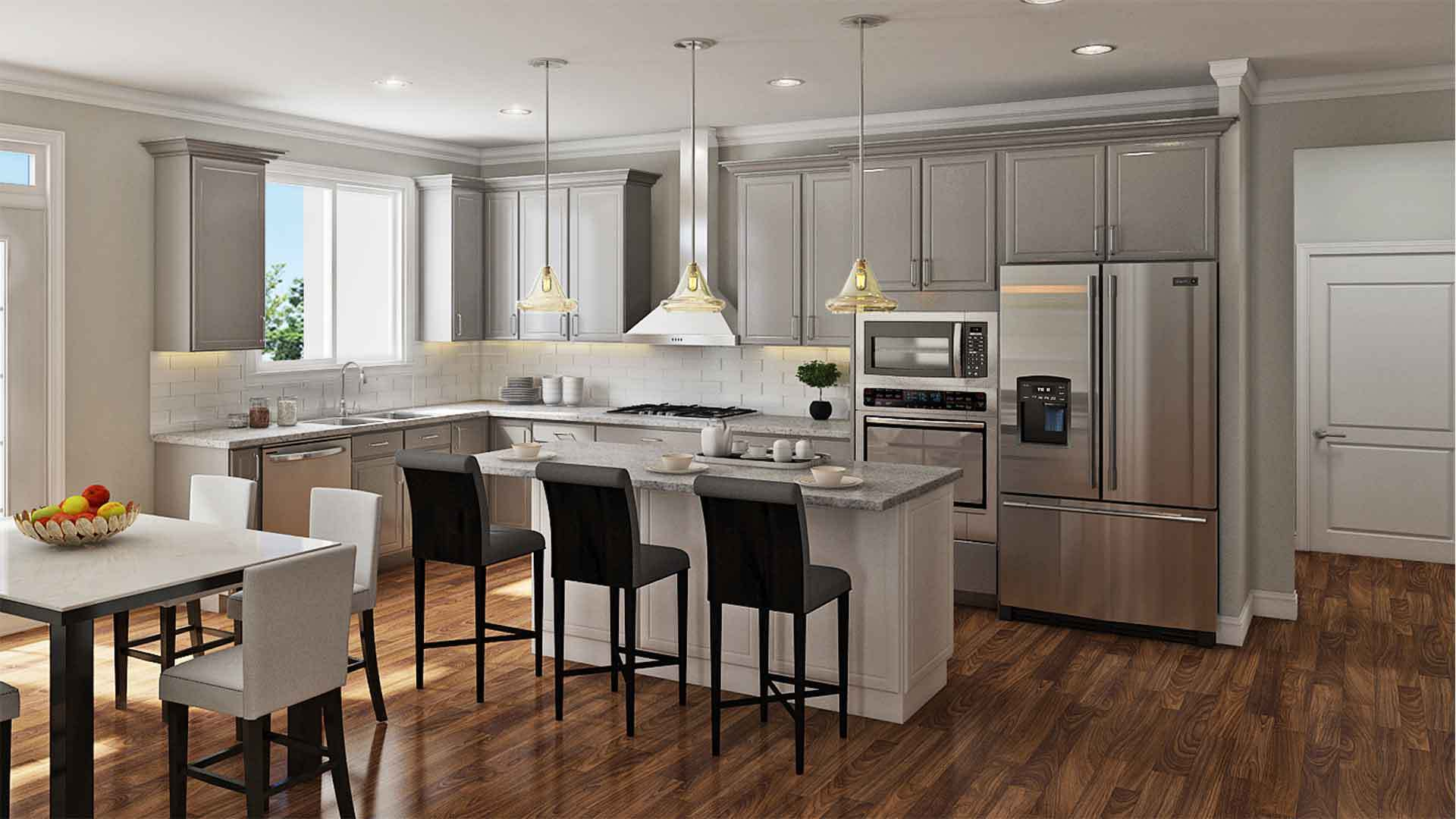 Kitchen-in-Worthington II-at-Bailey's Retreat-in-Raleigh