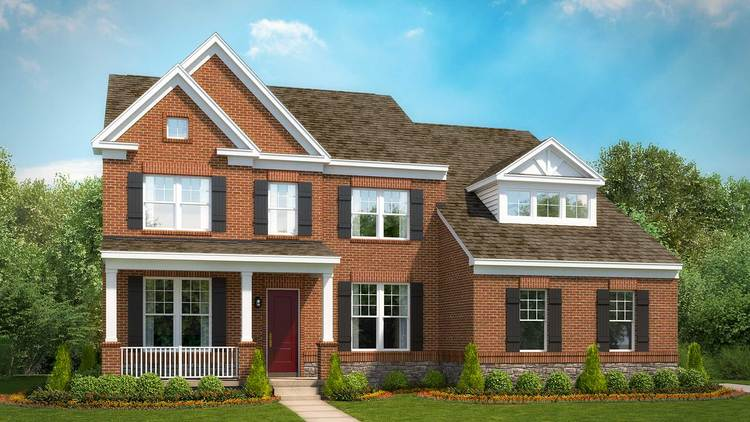 Exterior featured in the Taylor By Stanley Martin Homes in Washington, VA