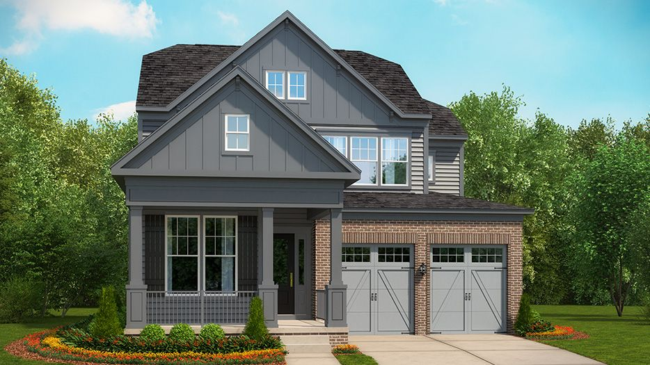 Exterior featured in the Hudson II By Stanley Martin Homes in Raleigh-Durham-Chapel Hill, NC