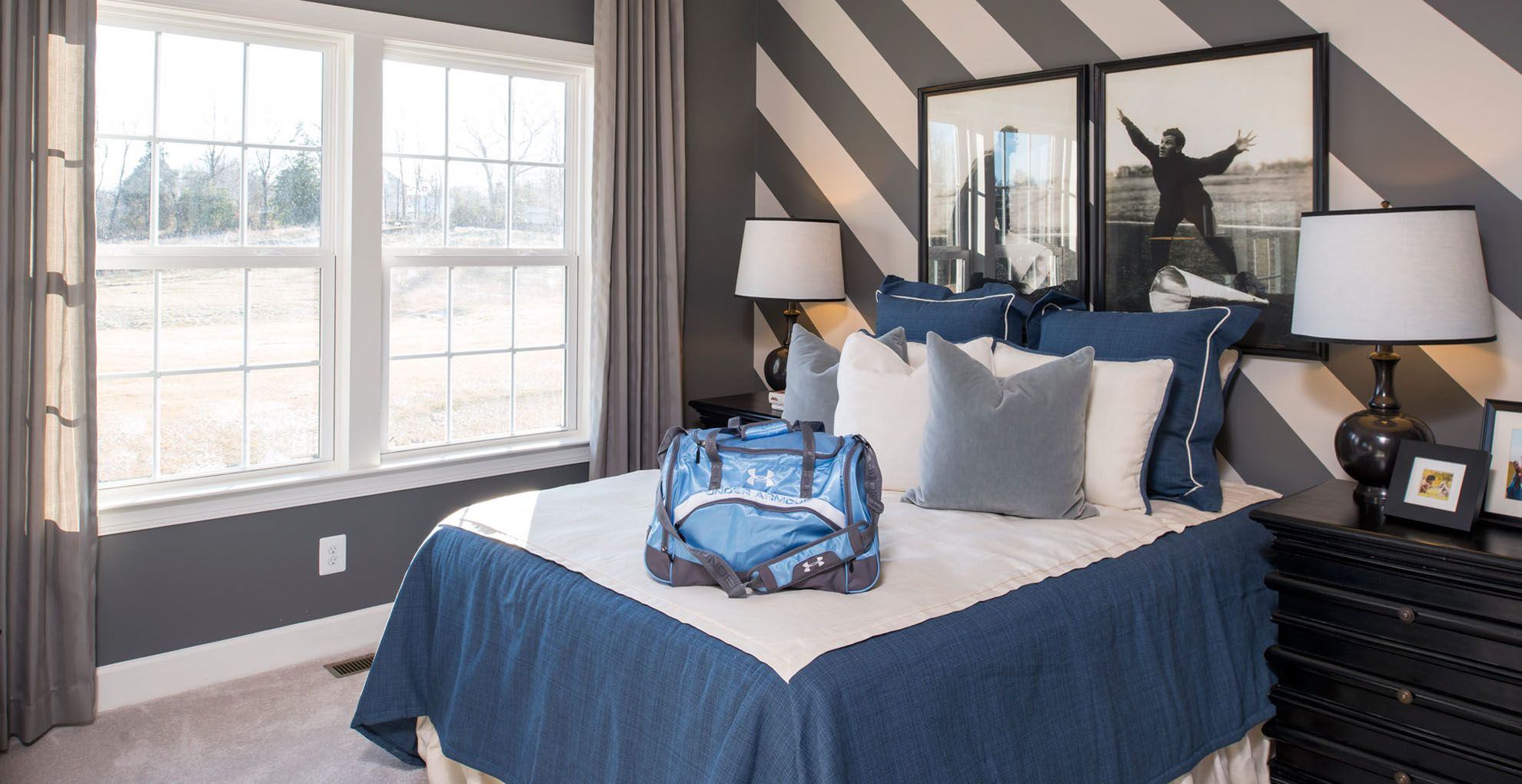 Bedroom-in-Sutton II-at-Bailey's Retreat-in-Raleigh