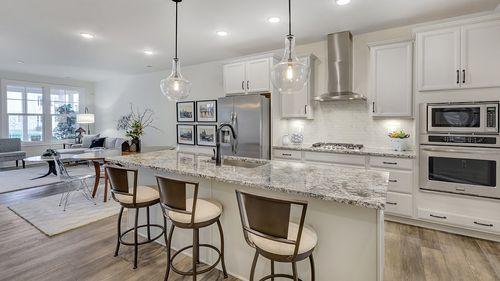Kitchen-in-Gaines-at-Avinity Estates-in-Charlottesville