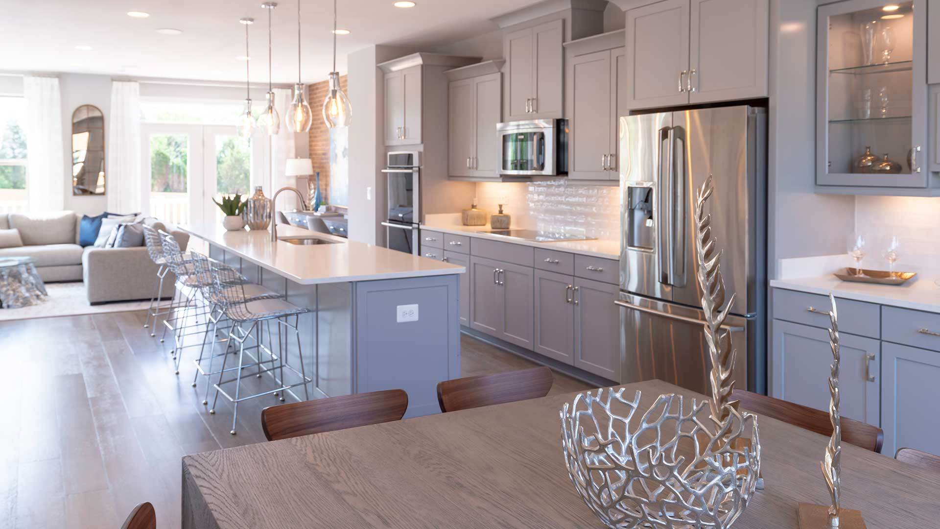 Kitchen-in-D65-at-The Kelly at Norcross-in-Norcross