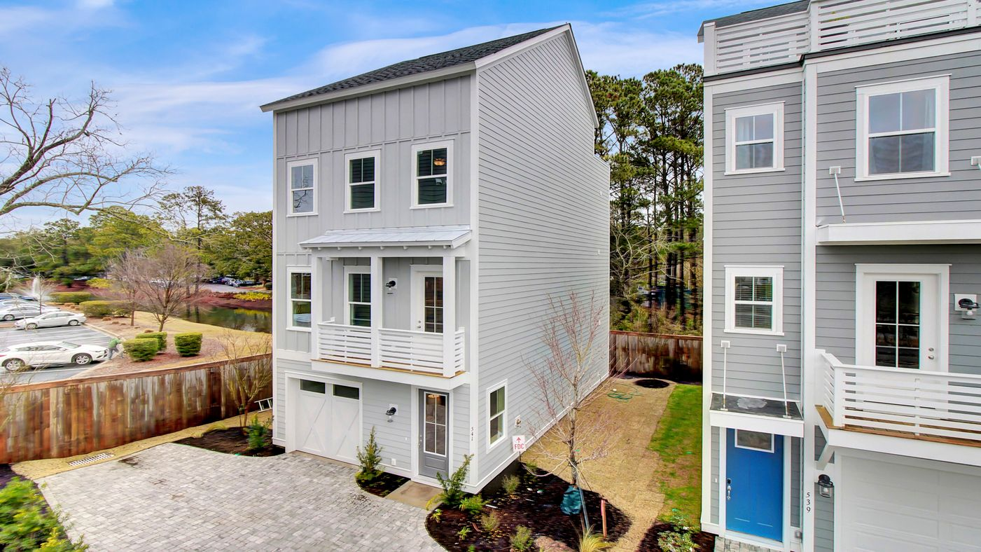 Exterior featured in the Emmalin By Stanley Martin Homes in Charleston, SC