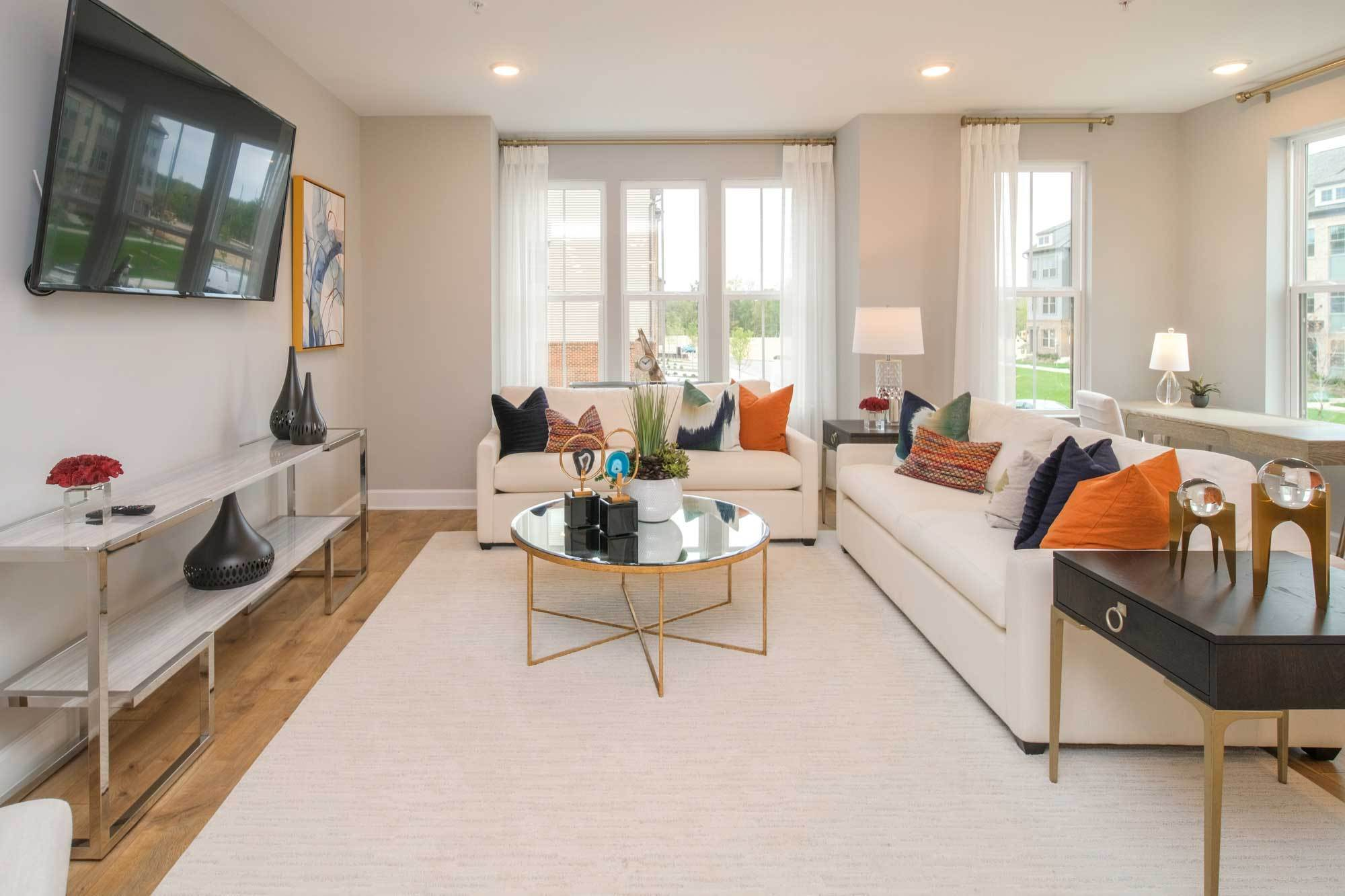 Living Area featured in the Jenkins By Stanley Martin Homes in Washington, MD