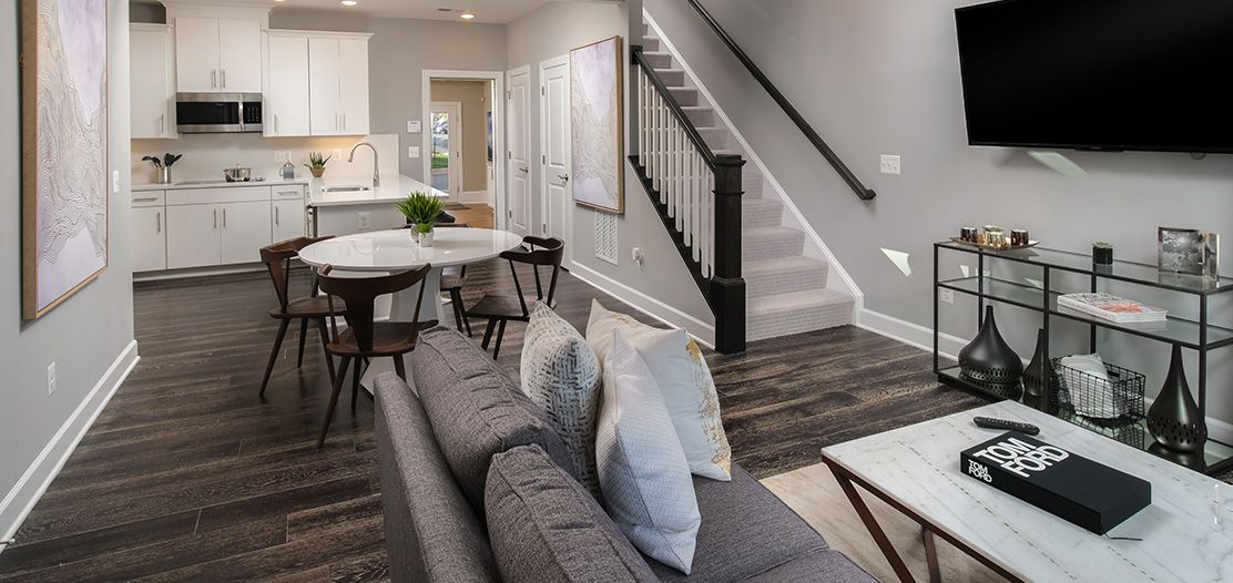 Living Area featured in the Jones By Stanley Martin Homes in Washington, MD