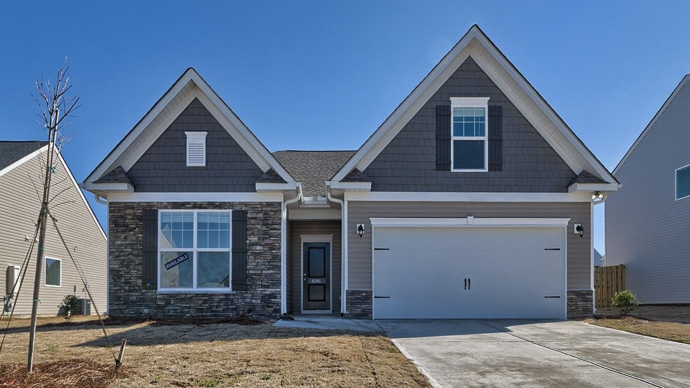 Exterior featured in the Everest By Stanley Martin Homes in Columbia, SC