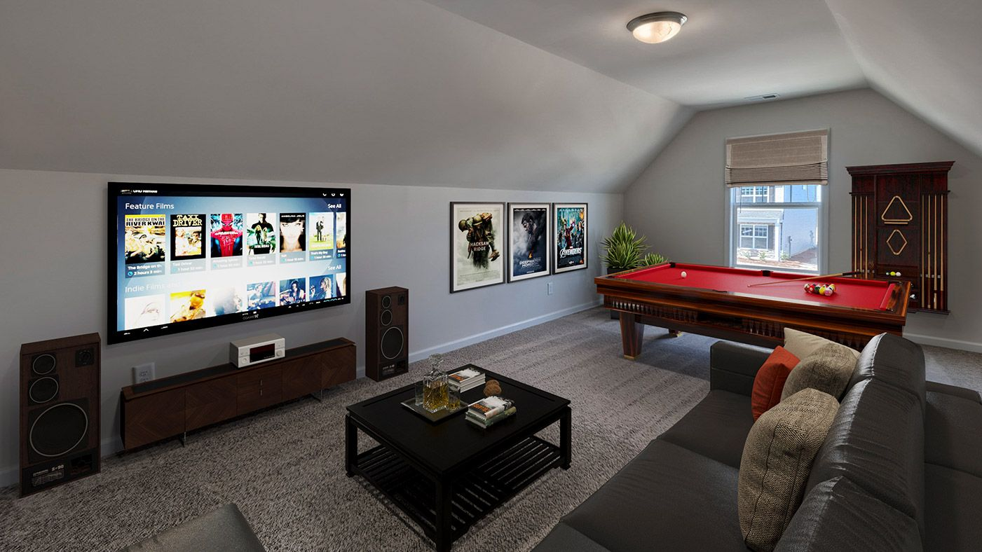 Living Area featured in the Everest By Stanley Martin Homes in Columbia, SC