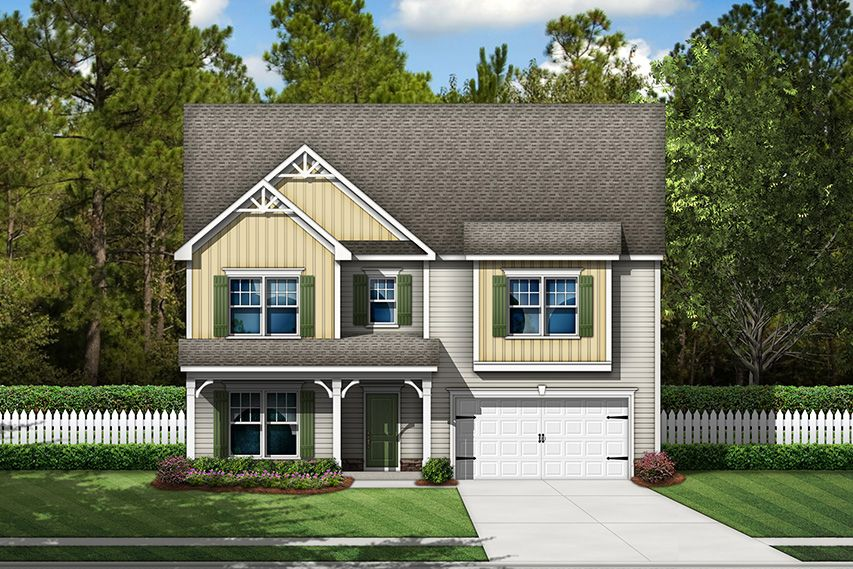 Exterior featured in the Shiloh By Stanley Martin Homes in Columbia, SC