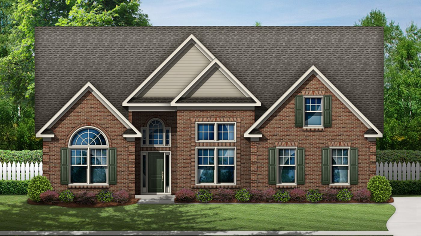 Exterior featured in the Winchester By Stanley Martin Homes in Columbia, SC