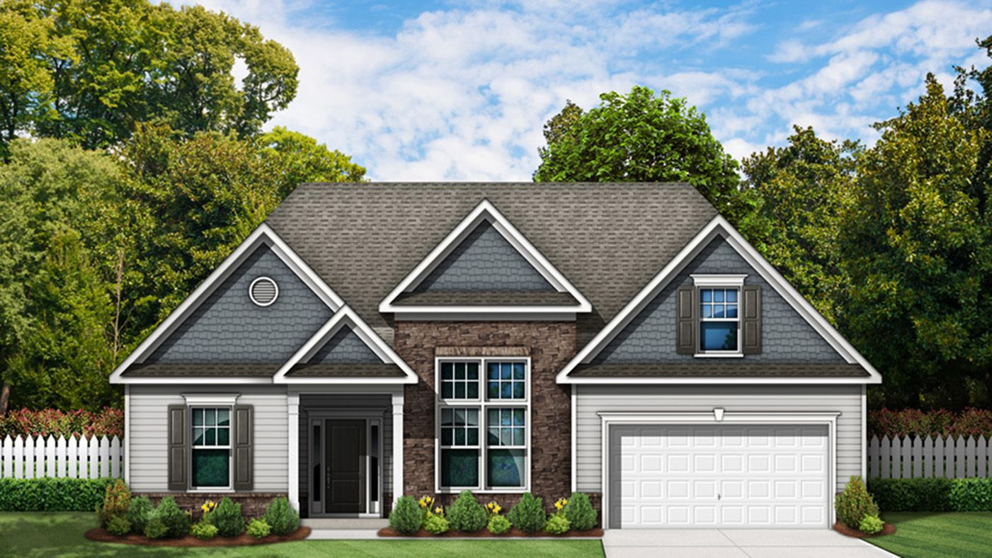 Exterior featured in the Jeremiah By Stanley Martin Homes in Columbia, SC