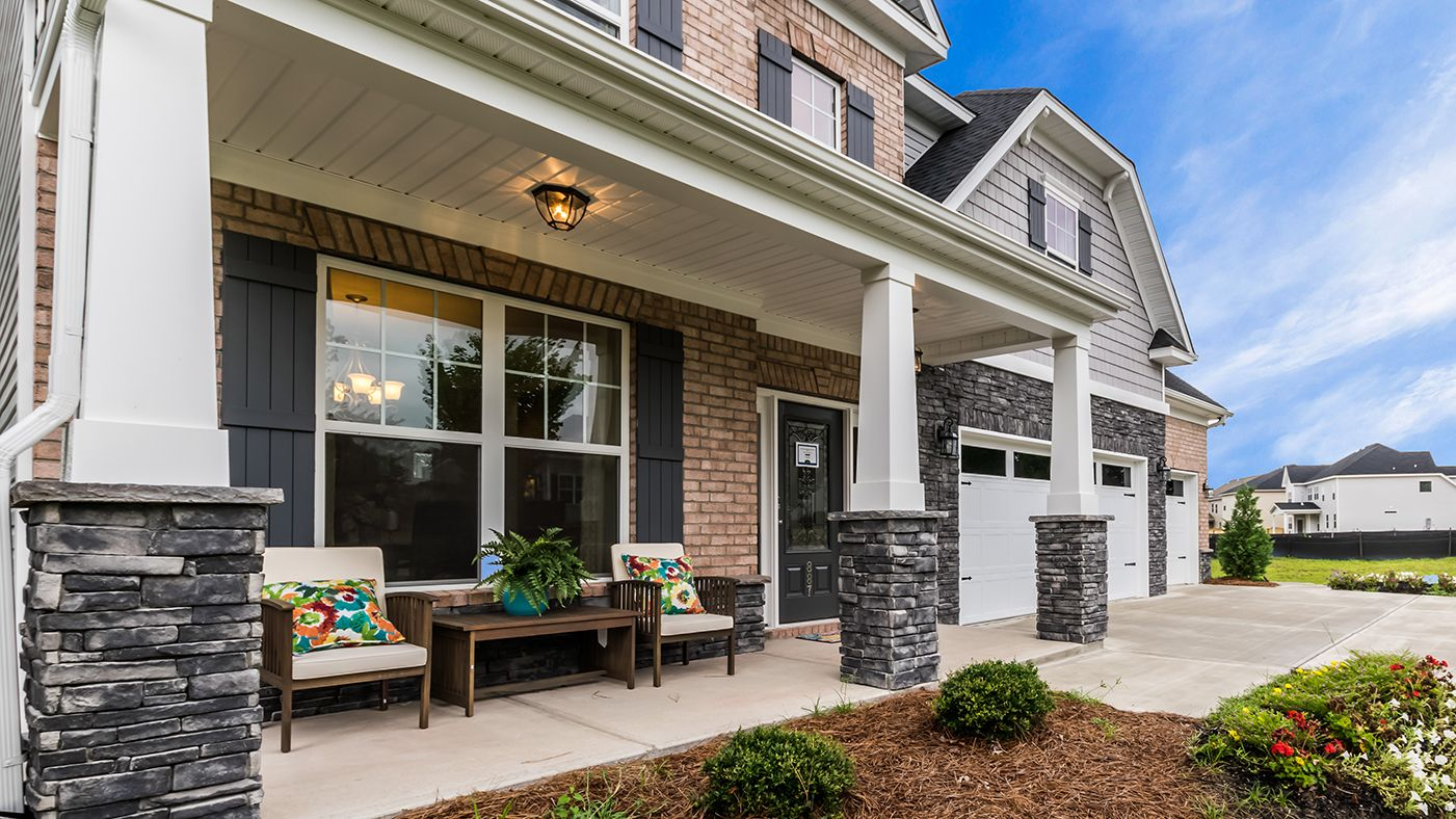 Exterior featured in the Dillon By Stanley Martin Homes in Charlotte, NC
