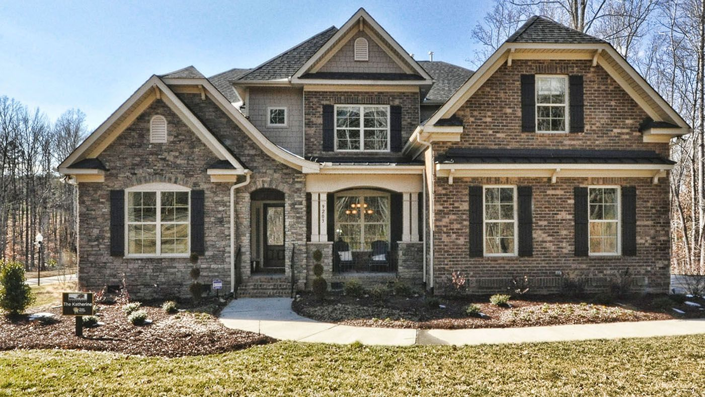 Exterior featured in the Katherine By Stanley Martin Homes in Charlotte, NC