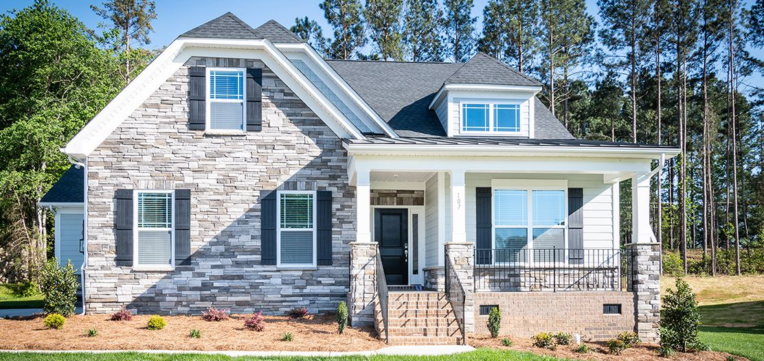 Exterior featured in the Clover By Stanley Martin Homes in Greenville-Spartanburg, SC