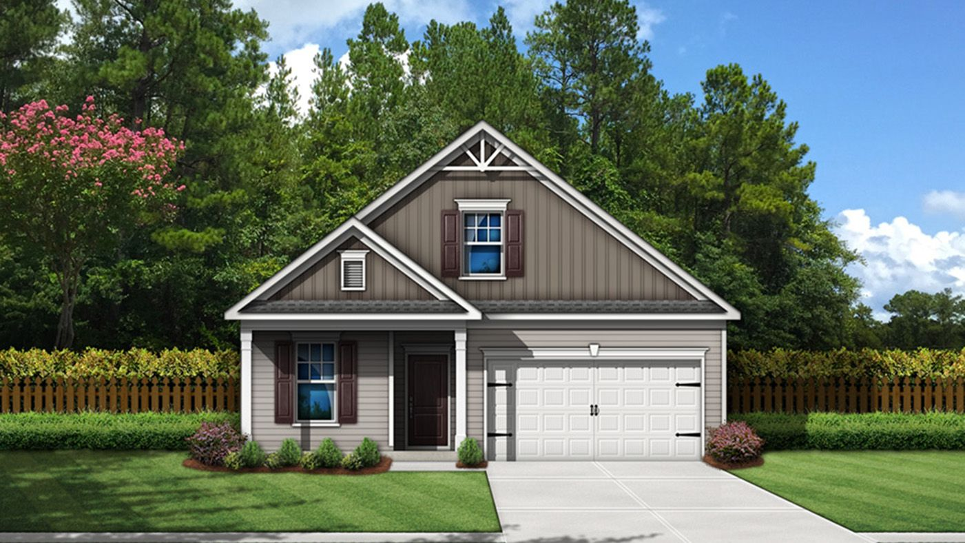 Exterior featured in the Hazelwood By Stanley Martin Homes in Greenville-Spartanburg, SC