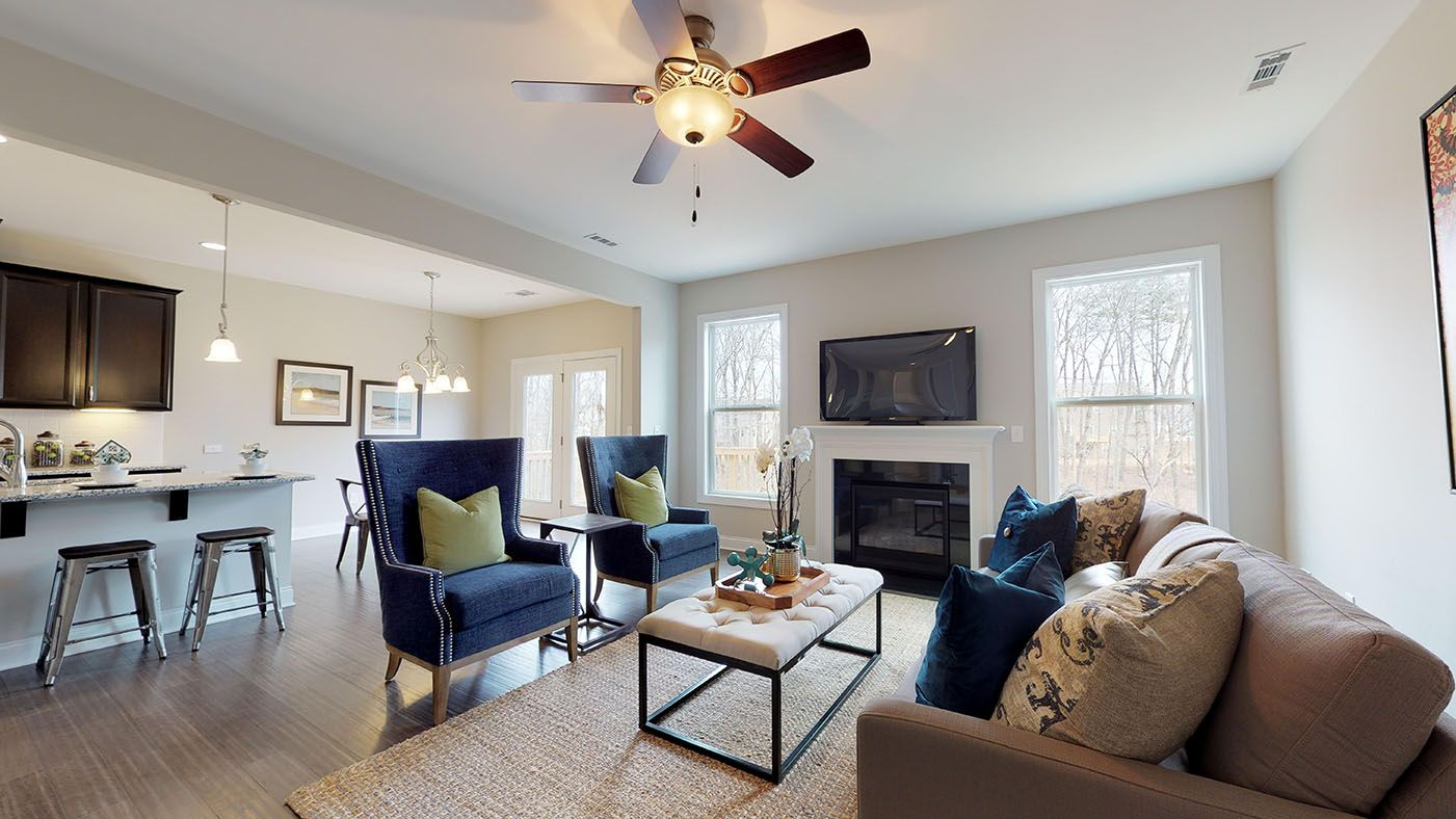 Living Area featured in the Brantley By Stanley Martin Homes in Augusta, SC
