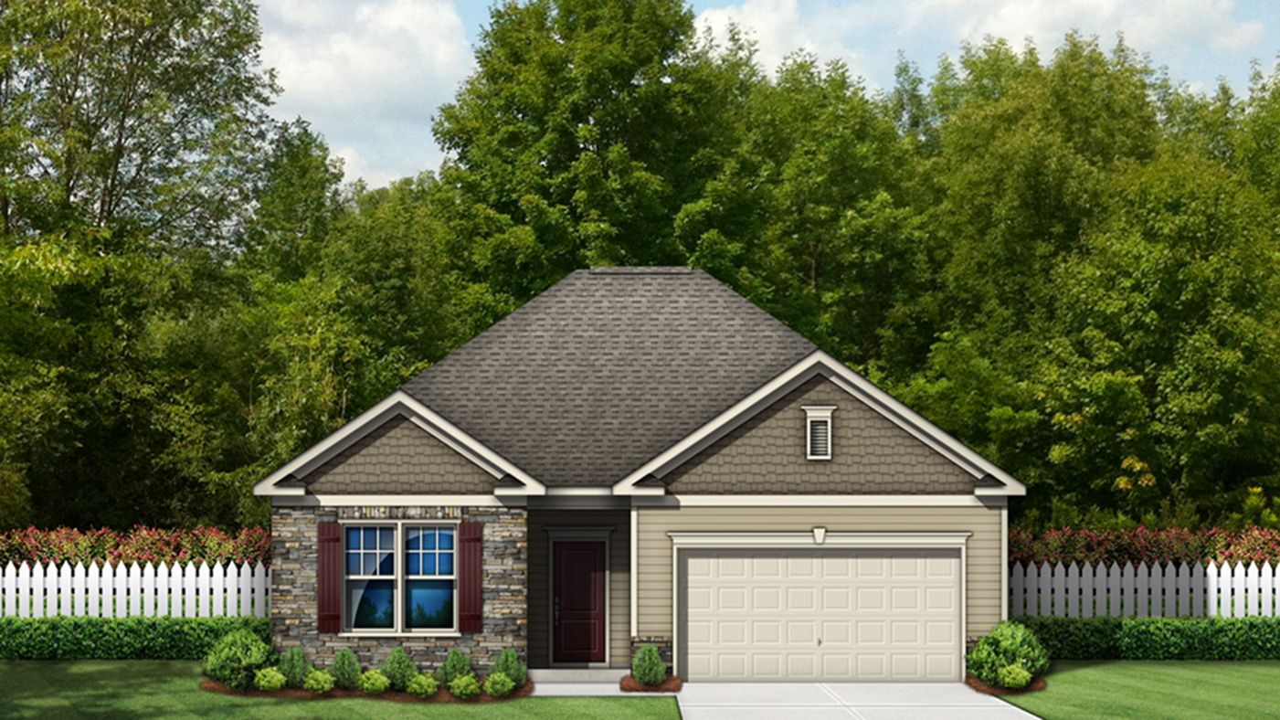 Exterior featured in the Everest By Stanley Martin Homes in Wilmington, NC