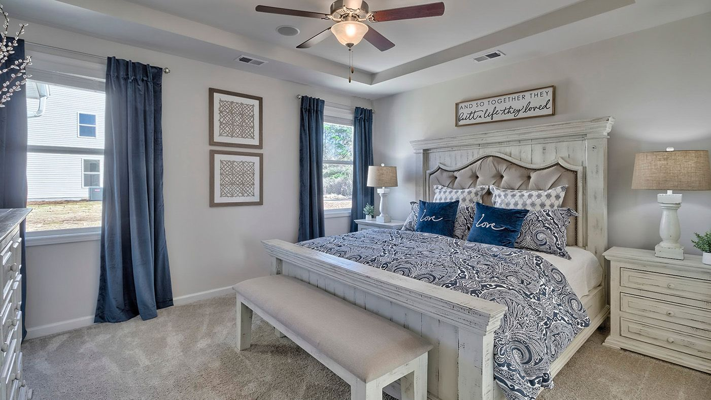 Bedroom featured in the Hazelwood By Stanley Martin Homes in Wilmington, NC