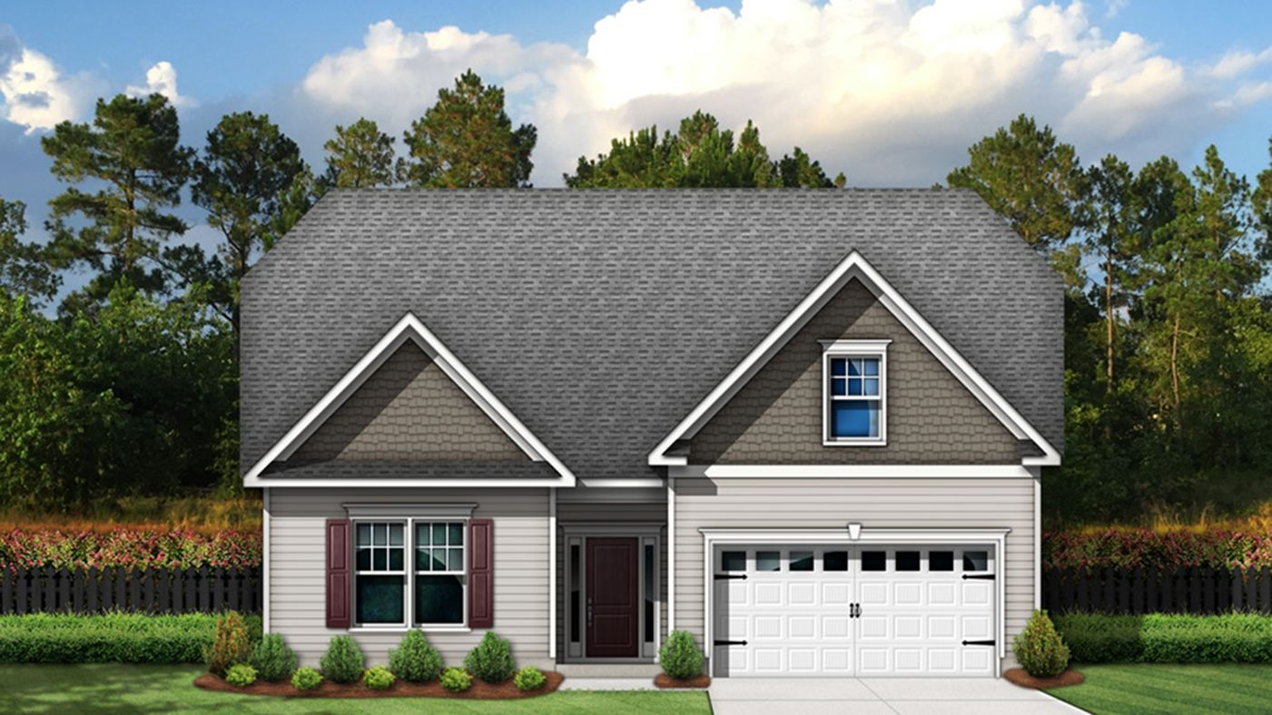 Exterior featured in the Stapleton By Stanley Martin Homes in Columbia, SC