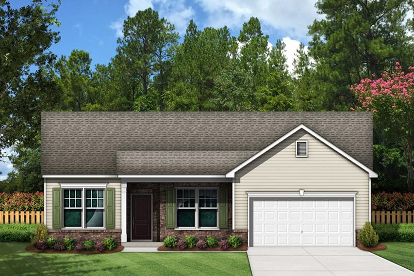 Exterior featured in the Quinby By Stanley Martin Homes in Columbia, SC