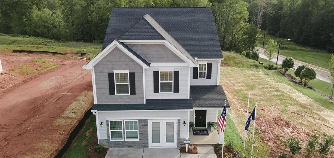 Exterior featured in the Summerton By Stanley Martin Homes in Greenville-Spartanburg, SC