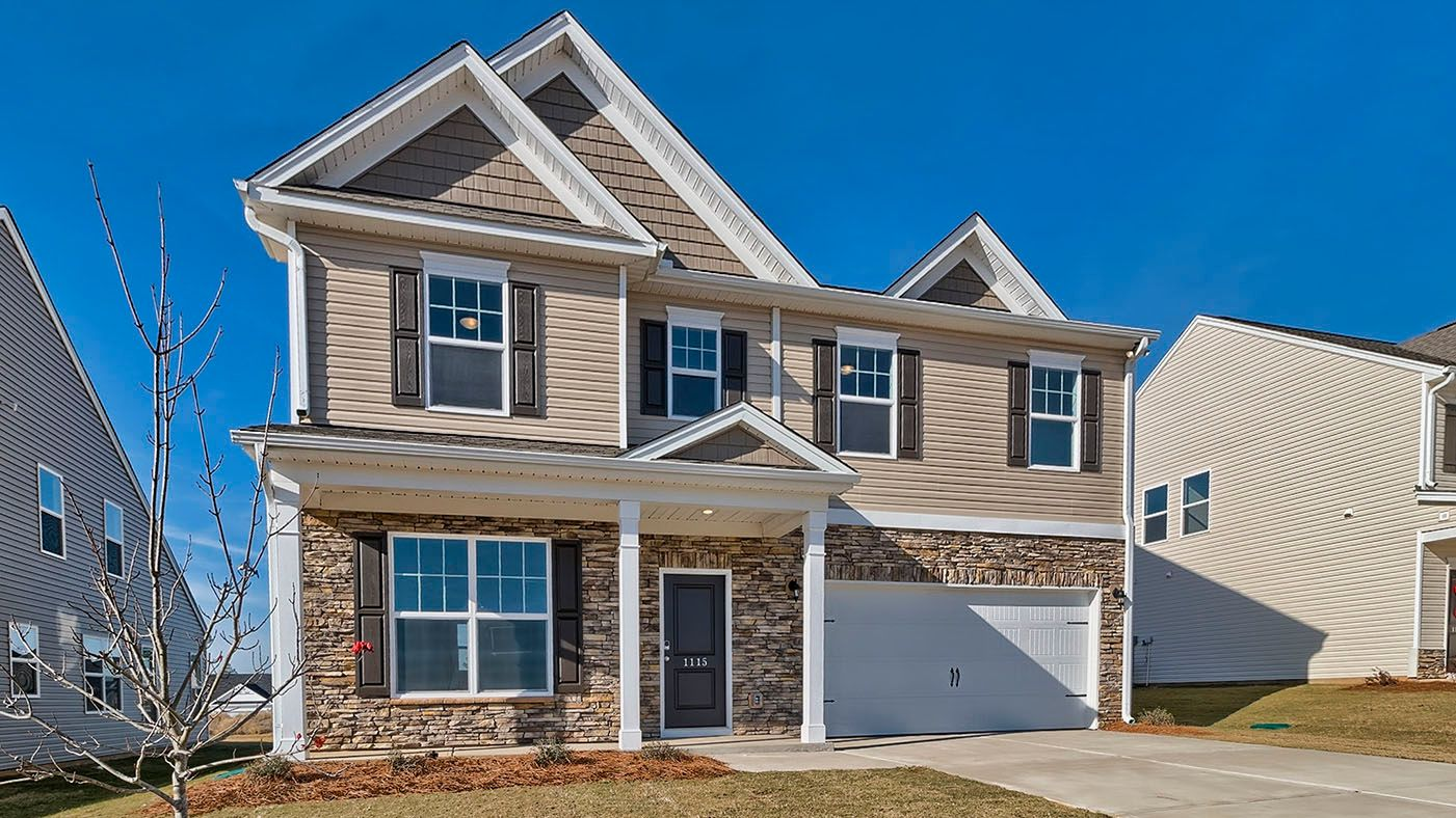 Exterior featured in the Pinewood By Stanley Martin Homes in Columbia, SC