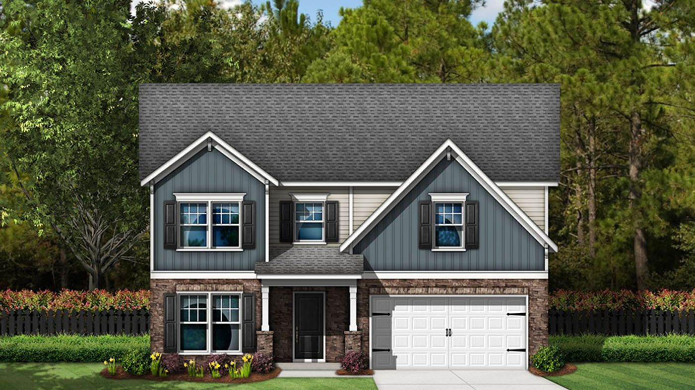Exterior featured in the Brantley By Stanley Martin Homes in Augusta, SC