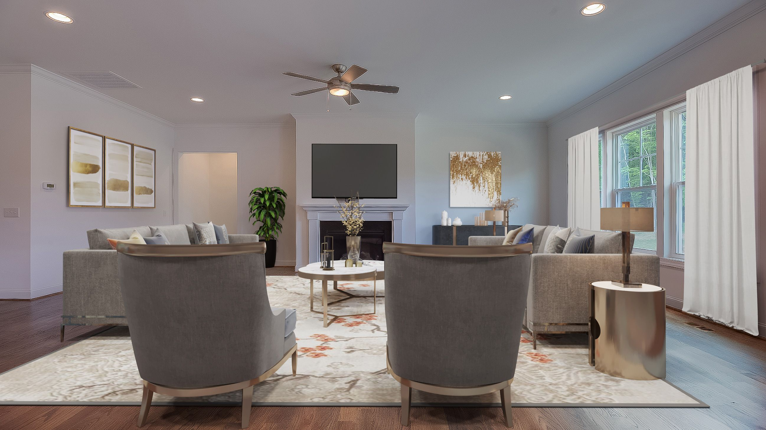 Living Area featured in the Buchanan II By Stanley Martin Homes in Raleigh-Durham-Chapel Hill, NC