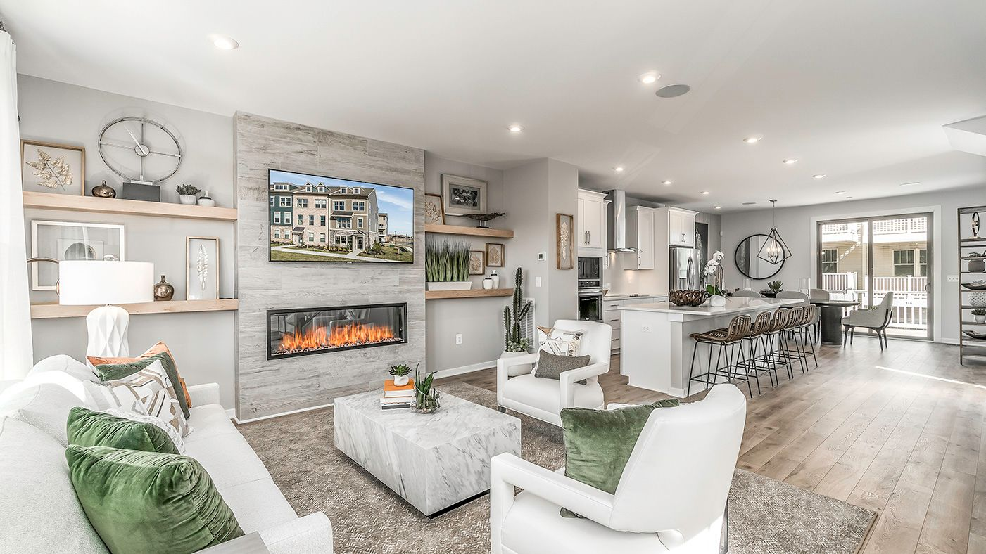 Living Area featured in the Kendry By Stanley Martin Homes in Washington, VA