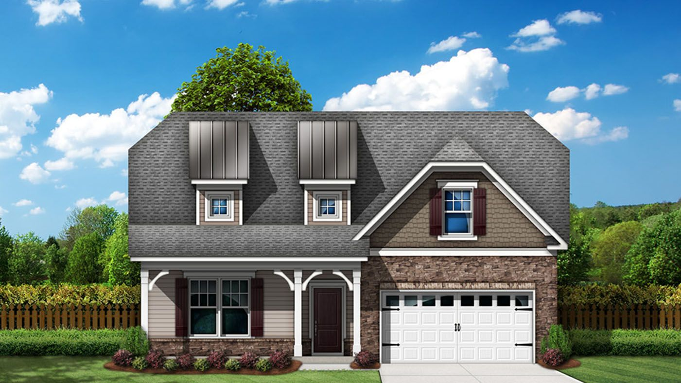 Exterior featured in the Winston By Stanley Martin Homes in Augusta, SC