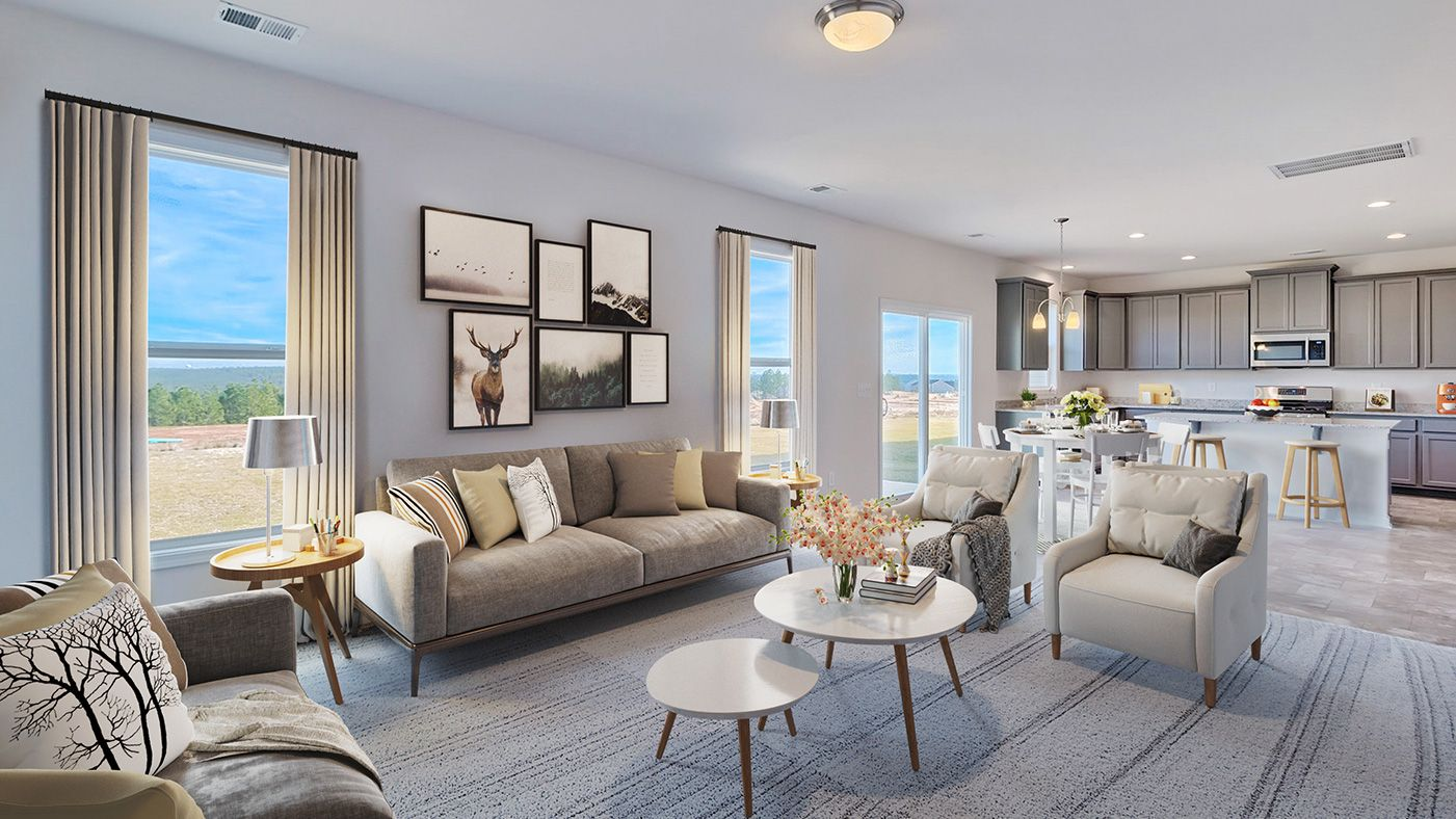 Living Area featured in the Pinewood By Stanley Martin Homes in Greenville-Spartanburg, SC
