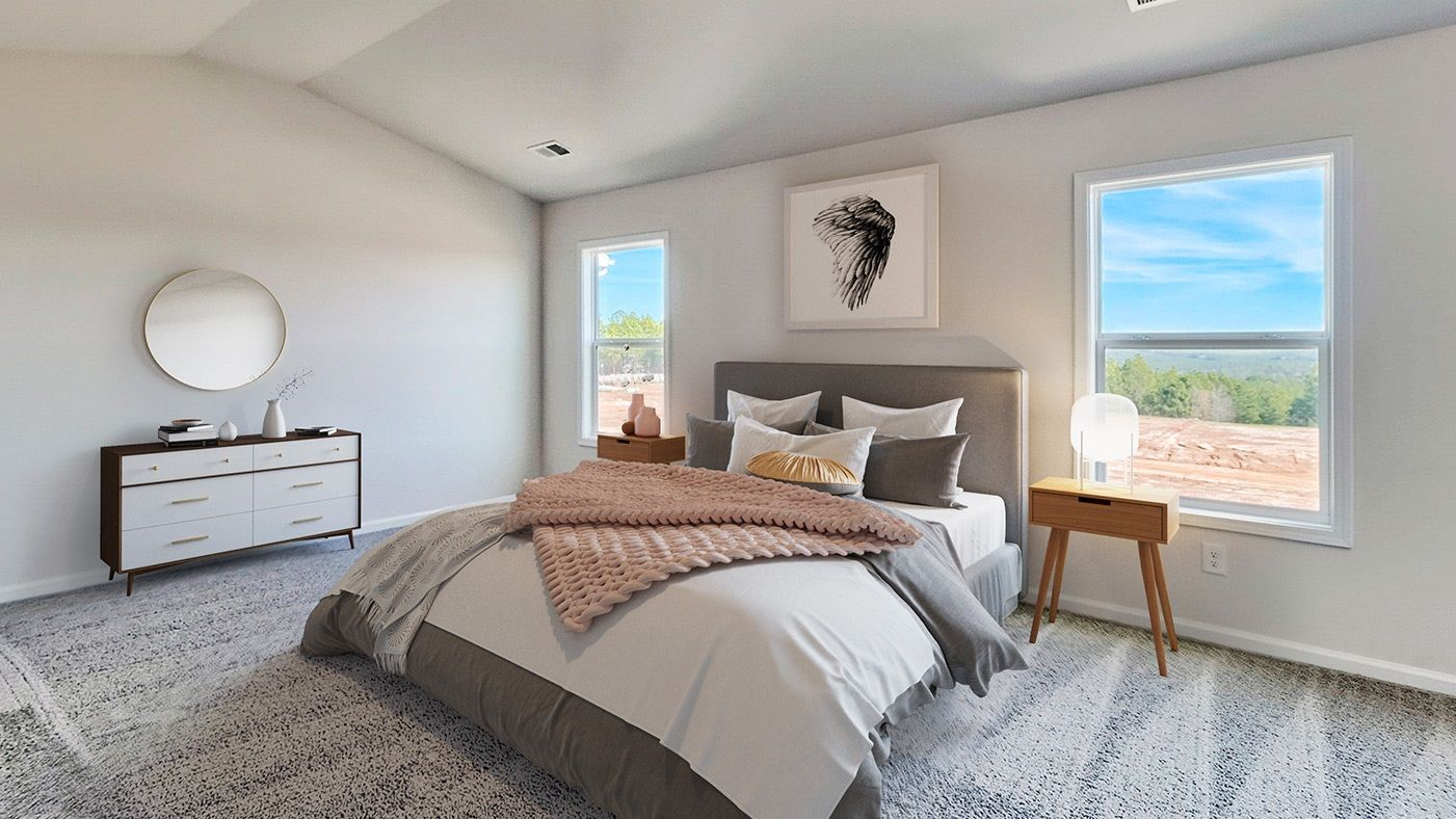 Bedroom featured in the Pinewood By Stanley Martin Homes in Augusta, SC