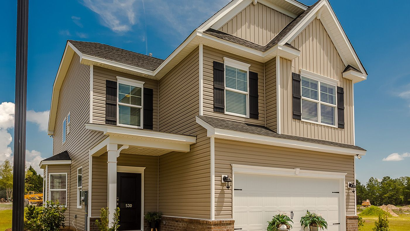 Exterior featured in the Barlow By Stanley Martin Homes in Columbia, SC