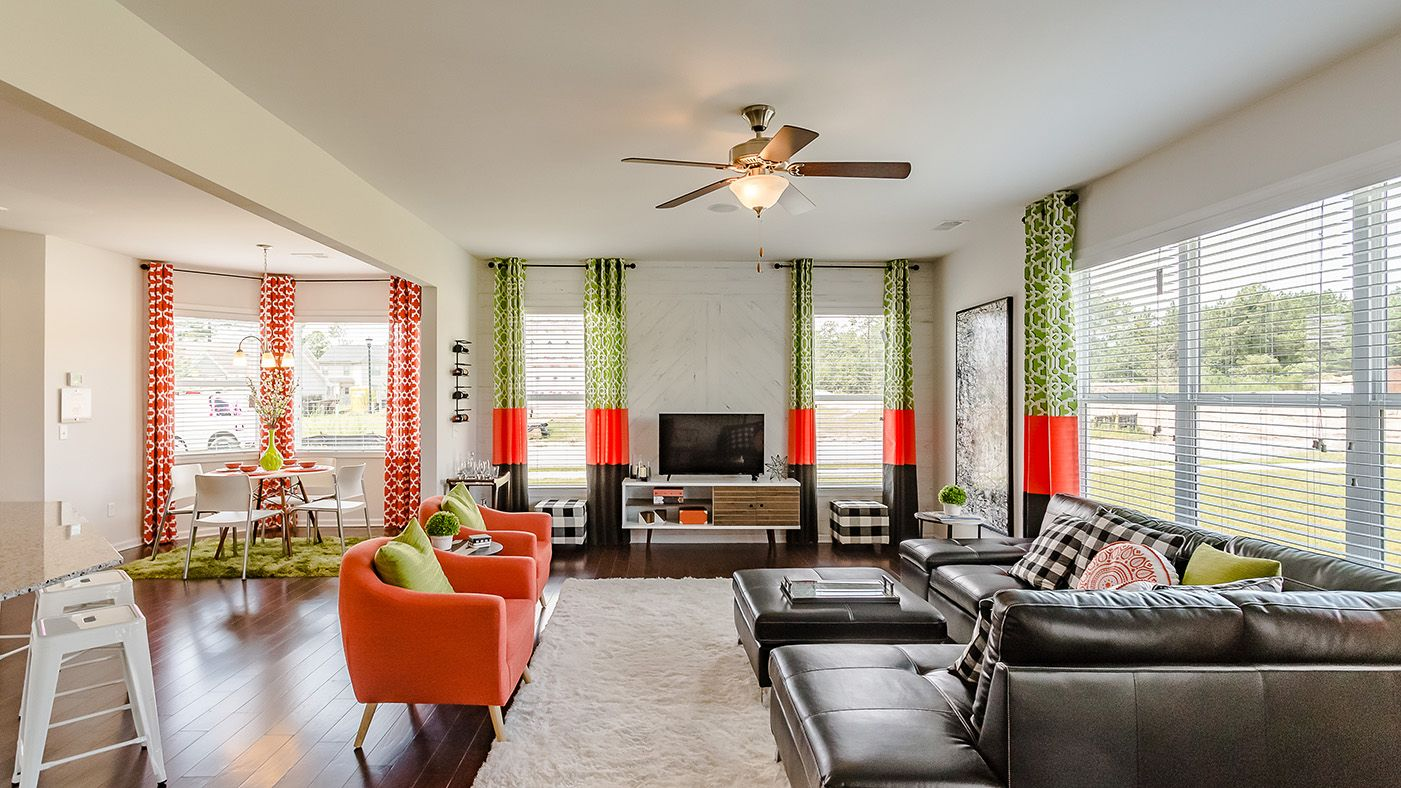Living Area featured in the Barlow By Stanley Martin Homes in Columbia, SC