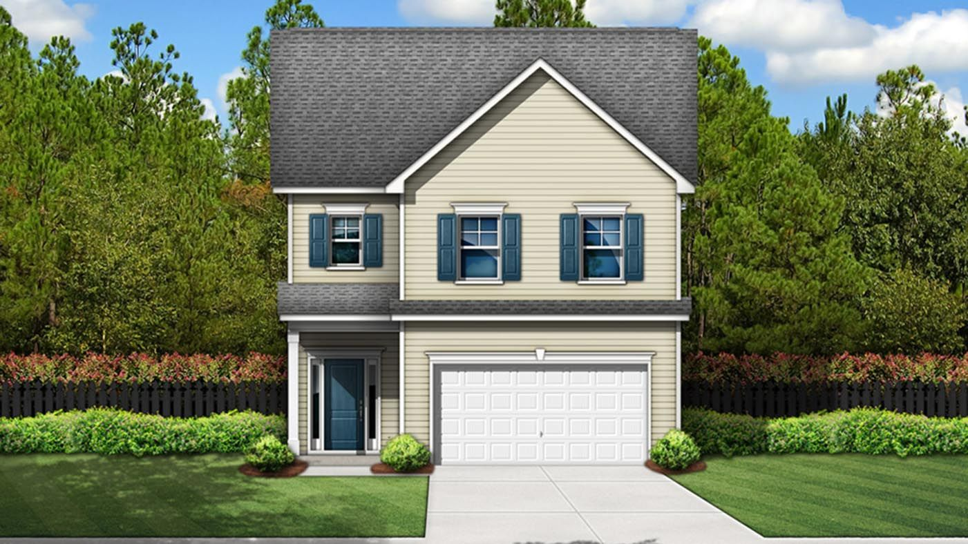 Exterior featured in the Summerton By Stanley Martin Homes in Columbia, SC