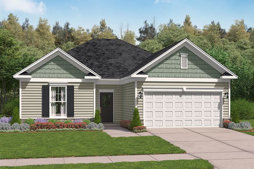 Exterior featured in the Santee By Stanley Martin Homes in Columbia, SC