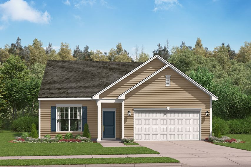 Exterior featured in the Maldon By Stanley Martin Homes in Columbia, SC