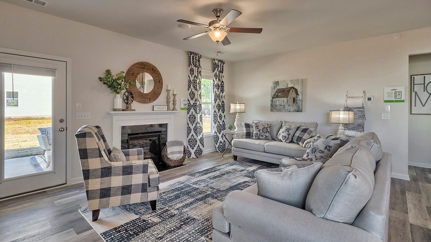 Living Area featured in the Hazelwood By Stanley Martin Homes in Columbia, SC