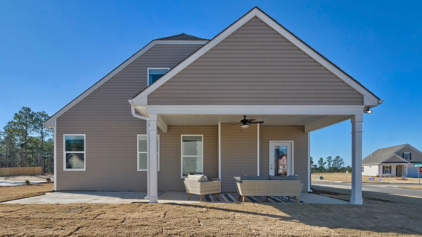 Exterior featured in the Hazelwood By Stanley Martin Homes in Columbia, SC