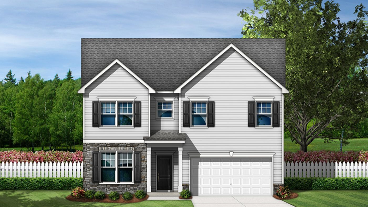 Exterior featured in the Brunson By Stanley Martin Homes in Columbia, SC