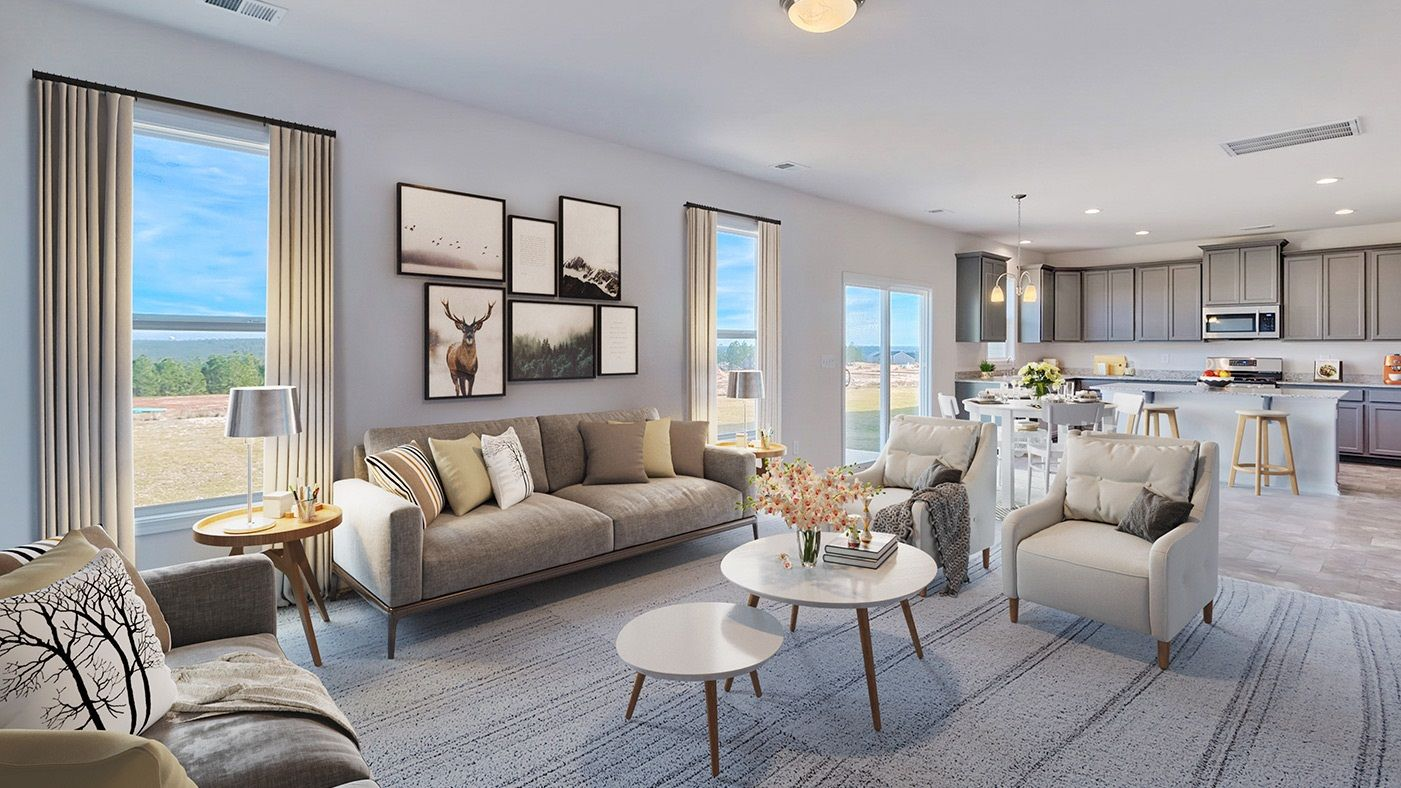 Living Area featured in the Pinewood By Stanley Martin Homes in Columbia, SC